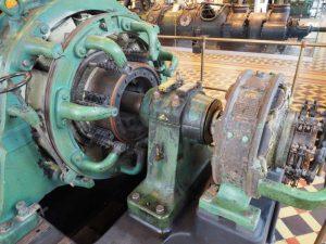 Zdjęcie układu zasilania - zespołu prądotwórczego I