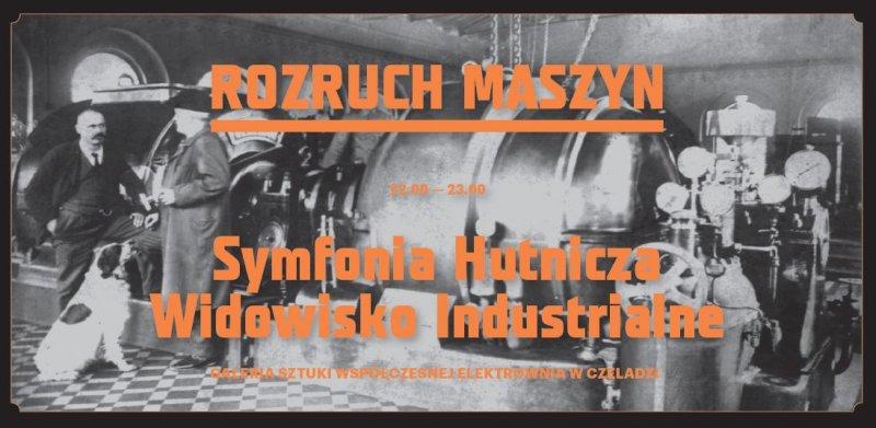 archiwalne zdjęcie z rozruchu maszyn