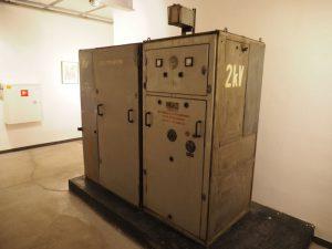 Zdjęcie jednego z urządzeń w podziemiu GSW Elektrownia