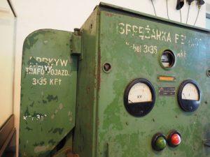Zdjęcie urządzenia sterującego sprężarką Belliss & Morcom