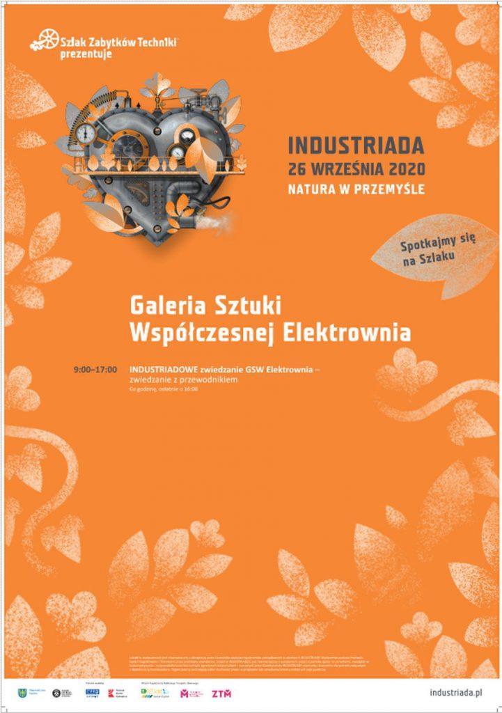 Grafika zapowiadająca Industriadę 2020