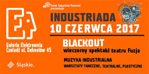 Grafika zapowiadająca Industriadę 2017 w GSW Elektrownia