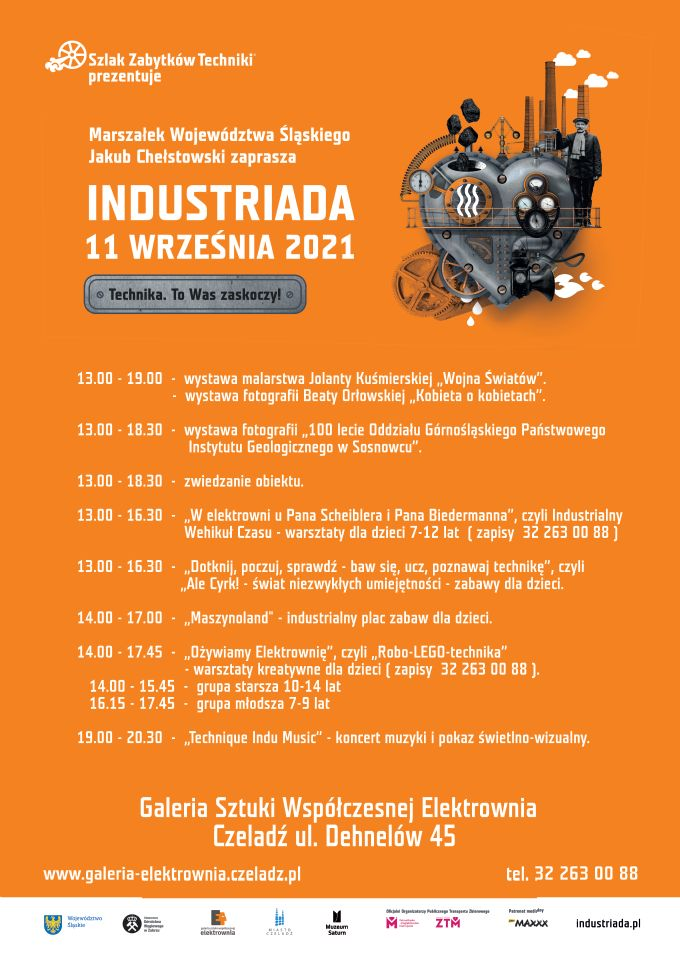 Plakat promujący INDUSTRIADĘ 2021
