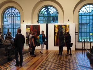 Wernisaz wystawy prac Jolanty Kuśmierskiej